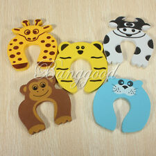 Baby Kids Animal Cartoon Door Jammer Finger Pinch Guard Safety Protector Stopper