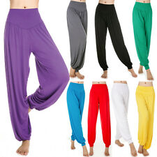 Women Harem Genie Aladdin Causal Gypsy Dance Yoga Pants Belly Baggy Jumpsuit