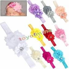Cute Kids Girls Baby Toddler Infant Flower Headband Hair Bow Band Accessories