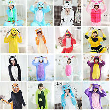 Lovely Unisex Adult Pajamas Kigurumi Cosplay Costumes Animal Onesie Sleepwear