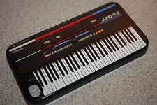 Custom roland Juno 106 SYNTHESIZER keyboard iphone 4 4s 5 5s case cover clip on