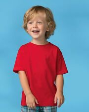 Rabbit Skins Toddler T-Shirt Boys & Girls Fine Jersey Cotton Tee 3321