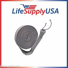 CENTRAL VACUUM HOSE COVER FIT 30 35 OR 50 FT VACSOCK VACSOC W APPLICATION TUBE