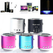 Mini Stereo Speaker FM Radio USB Disk Micro SD TF Card MP3 Player For iPod PC GB
