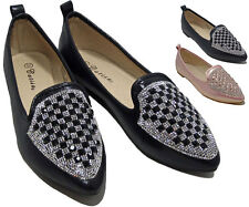 Fashion New Womens Ballerina Ballet Dolly Ladies Pumps Slip On Flat Shoes Loafer