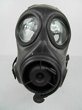 British Army X Police Twin Port FM12 Respirator Gas Face Mask SST Like S10 Y8