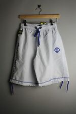 Henleys Brocton 501463 Mens White Surf Blue Polyester Swim Swimming Shorts New