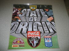 Rugby League 1996 State of Origin Poster 415x465mm - laminated