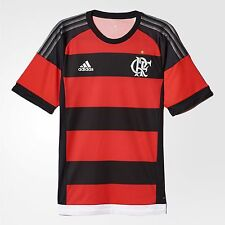 NEW Flamengo Player Home Soccer Football Maglia Jersey - 2015  Adidas Brazil