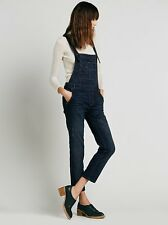FREE PEOPLE Skinny Denim Overall Adjustable Crisscross Straps in ALL SIZES 27-31