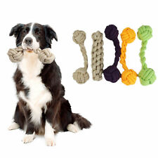 Bone Shape Tough Dog Cat Toy Strong Chew Toys For Dogs Rope Bite Pet Fun