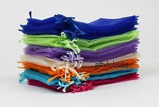 25/50/100 PCS 7x9cm Organza Jewelry Candy Gift Pouch Bags Wedding Xmas Favors