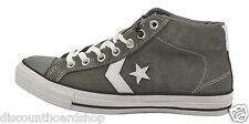 Converse STAR PLAY SKATE MID Charcoal White Suede (D)  #116501 (117) Mens Shoes