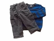 NWT Boy's Gymboree King of Cool sweater elastic corduroy pants ~ 18-24 months 4T