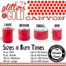 GOLD CANYON Candles - EXTRA DISCOUNT Med/Lg (Retail $16.75-21.75) *Choose scent*