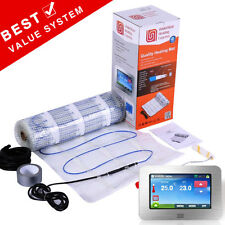 Underfloor Heating Mat Kit * ALL SIZES Dual Core Electric 150w/m² Under Tile