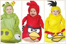 Rovio Angry Bird Yellow Red Bird King Pig Halloween Costume Baby Infant 0-9M