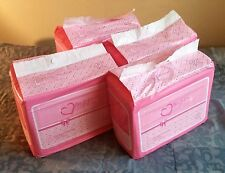 48 Diapers - DC Amor - Medium/Large - all pink theme! plastic-backed adult baby