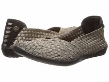 Women's Shoes Bernie Mev. Catwalk Casual Slip On Flats Bronze *New*
