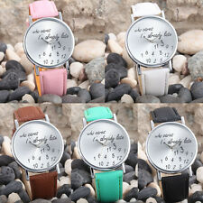 New Fashion Women Men Wrist Watch Leather Casual Analog Quartz Watch unique gift