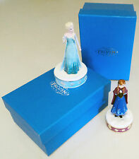 Official Disney Frozen Anna Elsa Trinket Box Collectable Gift Figurine Ornaments