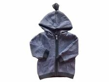 NWT Boy's Gymboree S'more Style sweater jacket hoodie w/ hood ~ 12 18 24 months