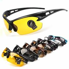 Sunglasses Mens Womens UV400 Sport Glasses Driving Cycling Bike Goggles Eyewear