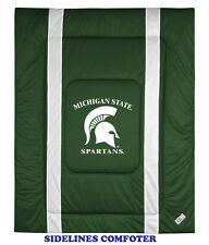 MICHIGAN STATE SPARTANS SIDELINES COMFORTER - 19-0447