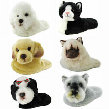 ANIMAL PLANET UNISEX SLIPPERS, LADIES HOUSE SLIPPER SHOES, HOUSESHOES, CAT DOG