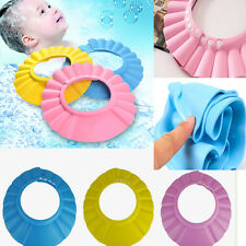 Cute Baby Kids Children Shampoo Bath Bathing Shower Cap Hat Wash Hair Shield
