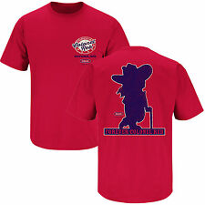 Ole Miss Fans. Colonel Reb Red T Shirt (S-3X)