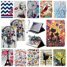 "Cartoon Print Universal Leather Protective Case Cover For 7""~7.9"" Inch Tablet PC"