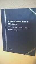 VINTAGE WHITMAN COIN ALBUM FOLDER #9031 WASHINGTON HEAD QUARTER No. 2 1946-1959