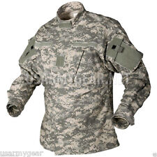 New US Army Military Acu Digital Combat Uniform Shirt Coat Top Jacket Medium M S