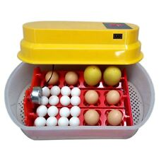 12 Eggs Incubator Auto-turning Poultry Hatcher Chicken, Duck, Goose