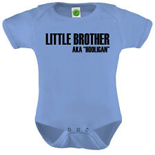 Little Brother Onesie ORGANIC Cotton Romper Baby Shower Gift Funny Present