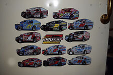 2014 Super Dirt Car -Dirt Modified -Refrigerator/Tool Box Magnets-18 choose from