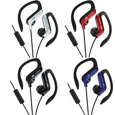 JVC HAEBR80 Sport-Clip In-Ear Headphones/Earphones with Microphone & Remote