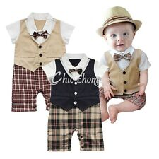 Baby Suit Newborn Romper Boy Outfit Kid Onesie Clothes Boy Clothing Playsuit Set