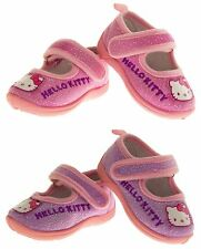 Baby Infant Girls Hello Kitty Mary Jane Outdoor Sole Ballerina Slippers Size 5 6