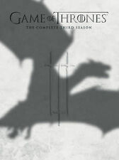 Game of Thrones: Season 3 COMPLETE 3rd Third DVD 2014 5-Disc Set