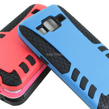 For Samsung Galaxy Prevail LTE Core Prime G360 Armor Hybrid Slim Case Iron Mask