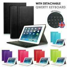 Wireless Bluetooth Keyboard Slim Leather Magnetic Case Cover For Apple iPad Air
