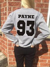 Liam Payne 93 sweatshirt Back Number One Direction women Band jumper Pullover