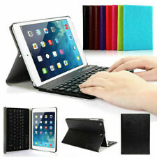 Wireless Keyboard Slim Leather Magnetic Cover For Apple iPad Mini iPad 2 3 4 Air