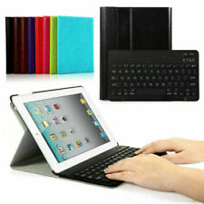 Slim Magnetic Stand Case Cover Bluetooth Keyboard For Apple iPad 4 3 2 iPad Air