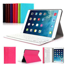 For Apple iPad Air 1 2 Mini Retina Leather Case Stand Cover Bluetooth Keybord