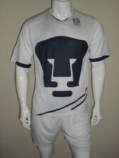 18 PUMAS HOME BLANK SOCCER UNIFORMS ADULT MIXED SIZES  AAA QUALITY