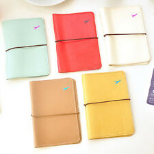 Portable Travel Wallet Bag Leather Passport Holder Card Case Protector Cover