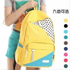 Fashion women's Rucksack Canvas School Campus Book Backpack Shoulder Bag New C31